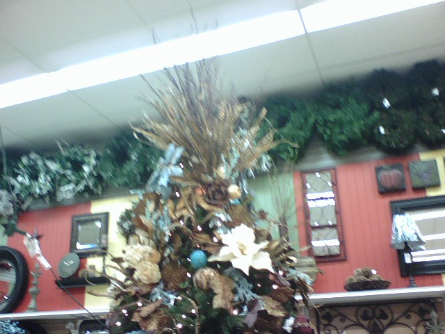 Teal Tree Topper at Porters Crafts