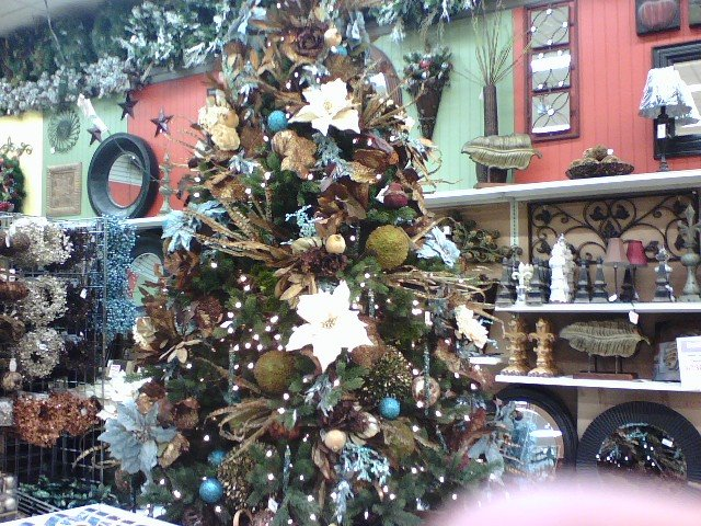 Teal Tree at Porters Crafts