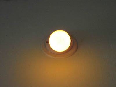 Glow of a Yellow Bulb
