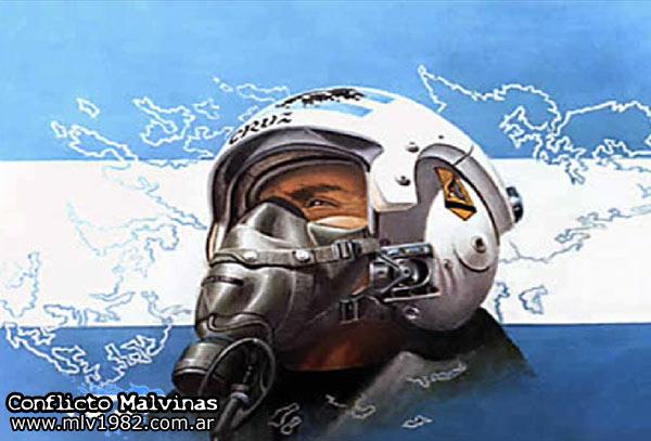 pilotos argentinos en malvinas