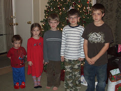 Grandchildren-Lined up youngest to oldest