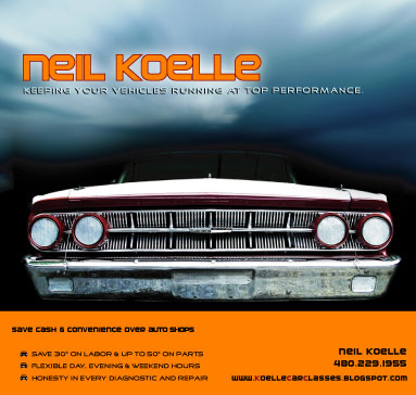 Automotive repair by Neil Koelle