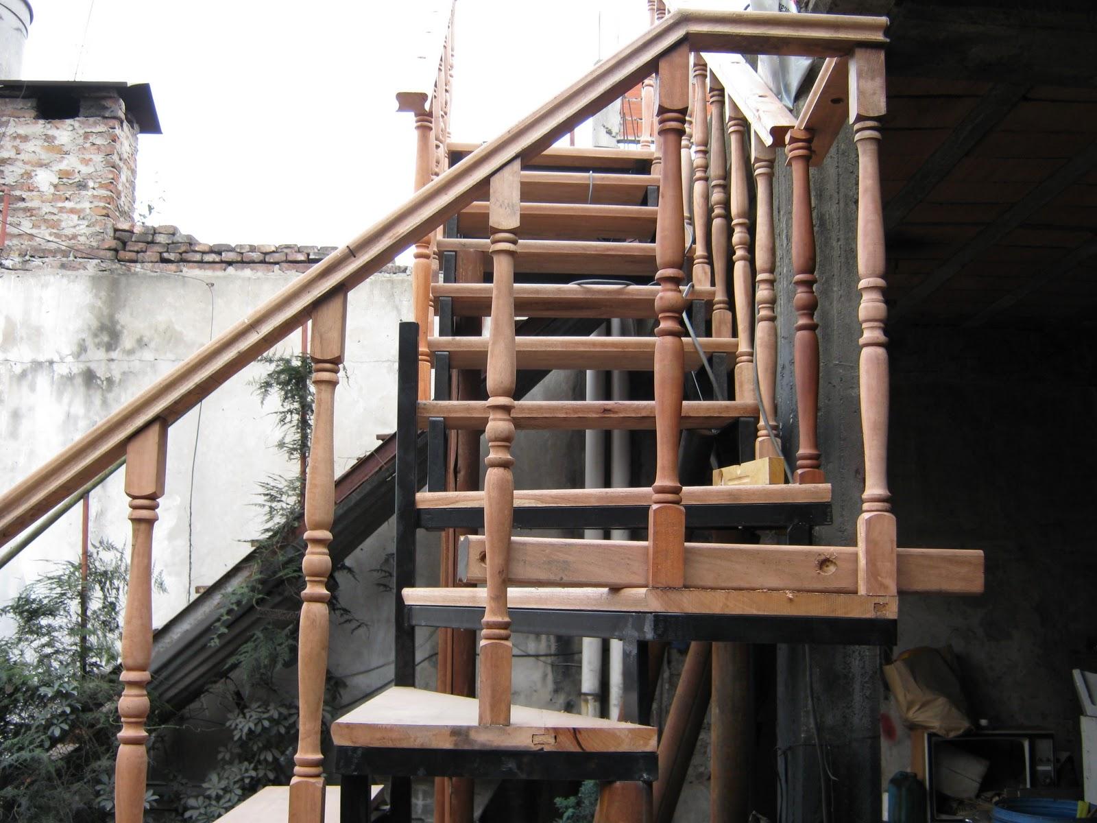 Escaleras la mosca blanca escalera estructura con - Escaleras blancas ...