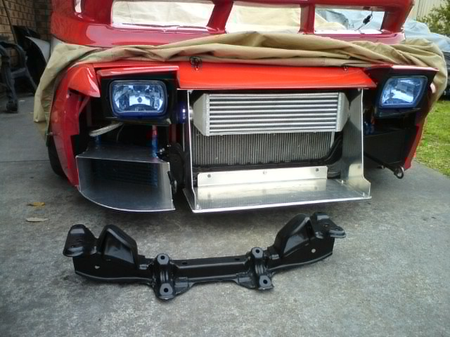 Race Car Radiator Ducting