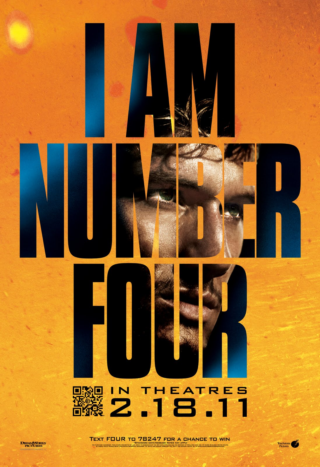 I Am Number Four Trailer I Am Number Four Movie Poster