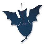 how to make a paper flapping bat