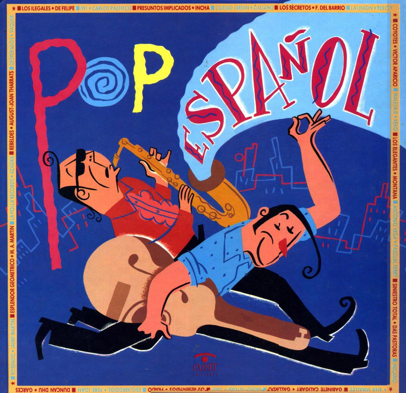 musica en espanol pop:
