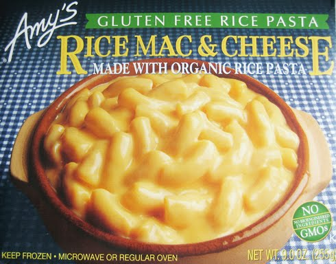 wheatless and meatless: GLUTEN-FREE MACARONI AND CHEESE FROM AMY'S