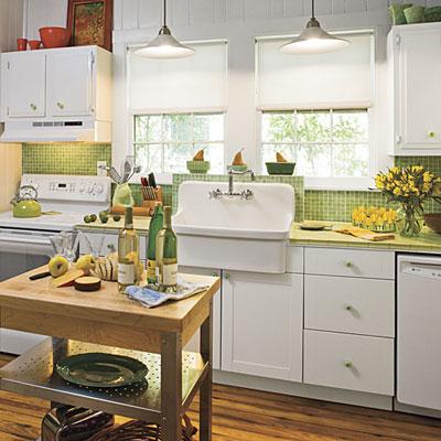 CyberLog: New Sets Retro Kitchen Table Kitchen Cart Islands