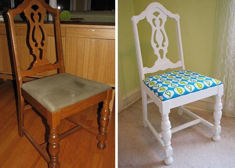Mostaza Seed: Vintage Chair Makeovers