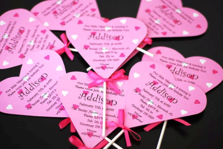 A simple favor custom valentine birthday invitations custom valentine birthday invitations filmwisefo
