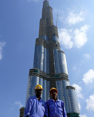 Burj Dubai Construction Workers