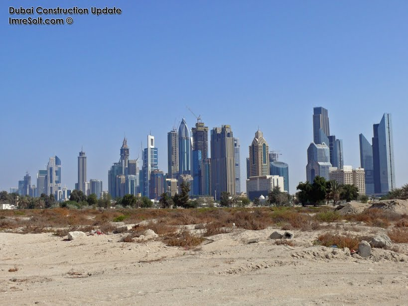 dubai tower 2011. Sheikh Zayed Road towers,Dubai