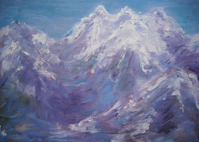 amurg de iarna violet