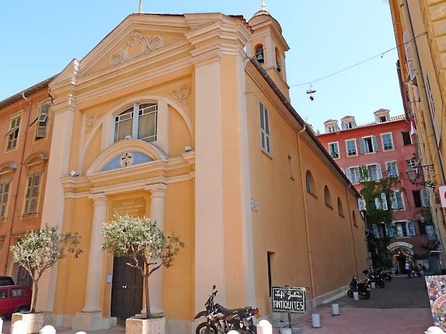 Chapelle Saint Suaire Sainte Trinite - церкви Ниццы, достопримечательности Ниццы
