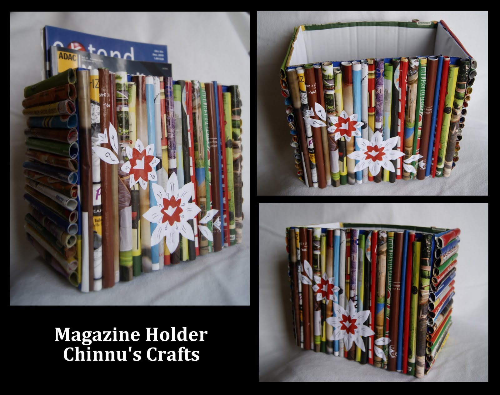 Magazine paper crafts paper crafts ideas for kids - How to reuse magazines seven inspired ideas ...