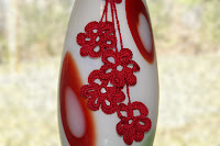 Crochet Red Flower