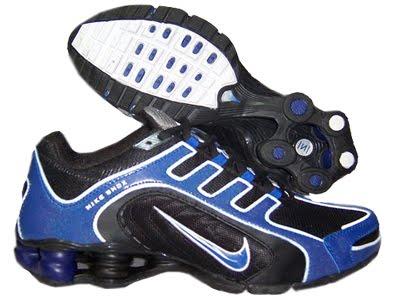 nike Chaussures Nike Shox MagasinHomme Running Chaussure Noir Bleu