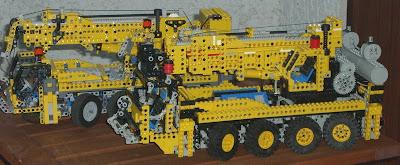 Le plus gros lego technic du monde