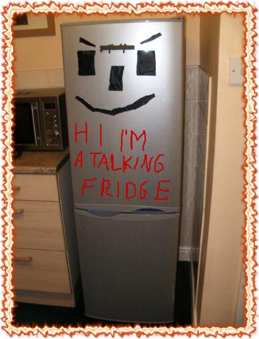 talking refrigerator