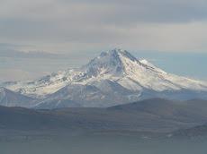de vulkaan Erciyes