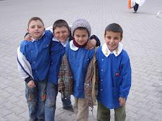 schoolkinderen in Uçhisar