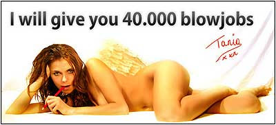 Ela promete 40 mil bobós. E nem precisa de ganhar as eleições!