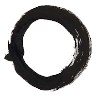 The enso, a symbol of Zen Buddhism