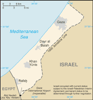 Gaza Strip from CIA factbook