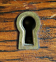 Keyhole of a Warded Lock