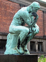 Auguste Rodin. Grubleren (Thinker)