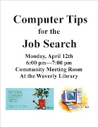 Computer Tips for the Job Search. at 12:54 PM