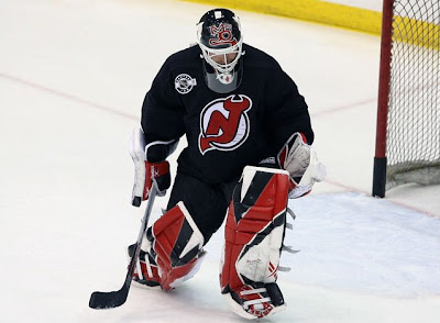 Cup Crazy S National Hockey League Blog Martin Brodeur Unveils New