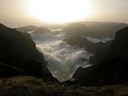 Nevoeiro na Ilha da Madeira