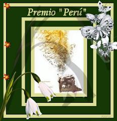 """PREMIO """"PERU"""". Me ha sido concedido por Lorena del blog """"Mi rinconcito soleado"""""""