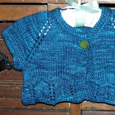 Free Knitting Pattern For Girls Bolero : kyarns: Best Picks: Warm Weather Knitting and Babies!