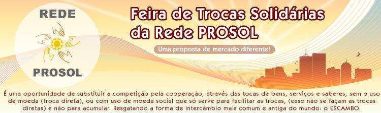 Feira de Trocas Solidárias da Rede Prosol