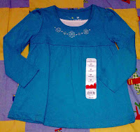 Jumping Beans Blouse (Turquoise)