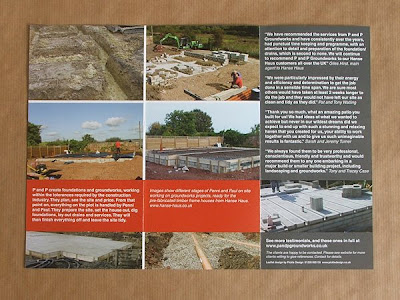 Backgrounds For Leaflets. The leaflets were part of a