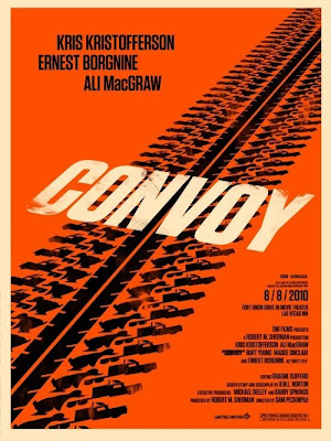 Convoy Poster - Olly Moss