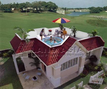 Cebu house and lot for sale june 2010 for 2 storey house design with roof deck