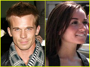 cam gigandet and his girlfriend