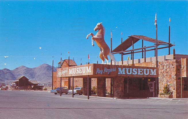 Postcardy The Postcard Explorer Vtt Roy Rogers Museum