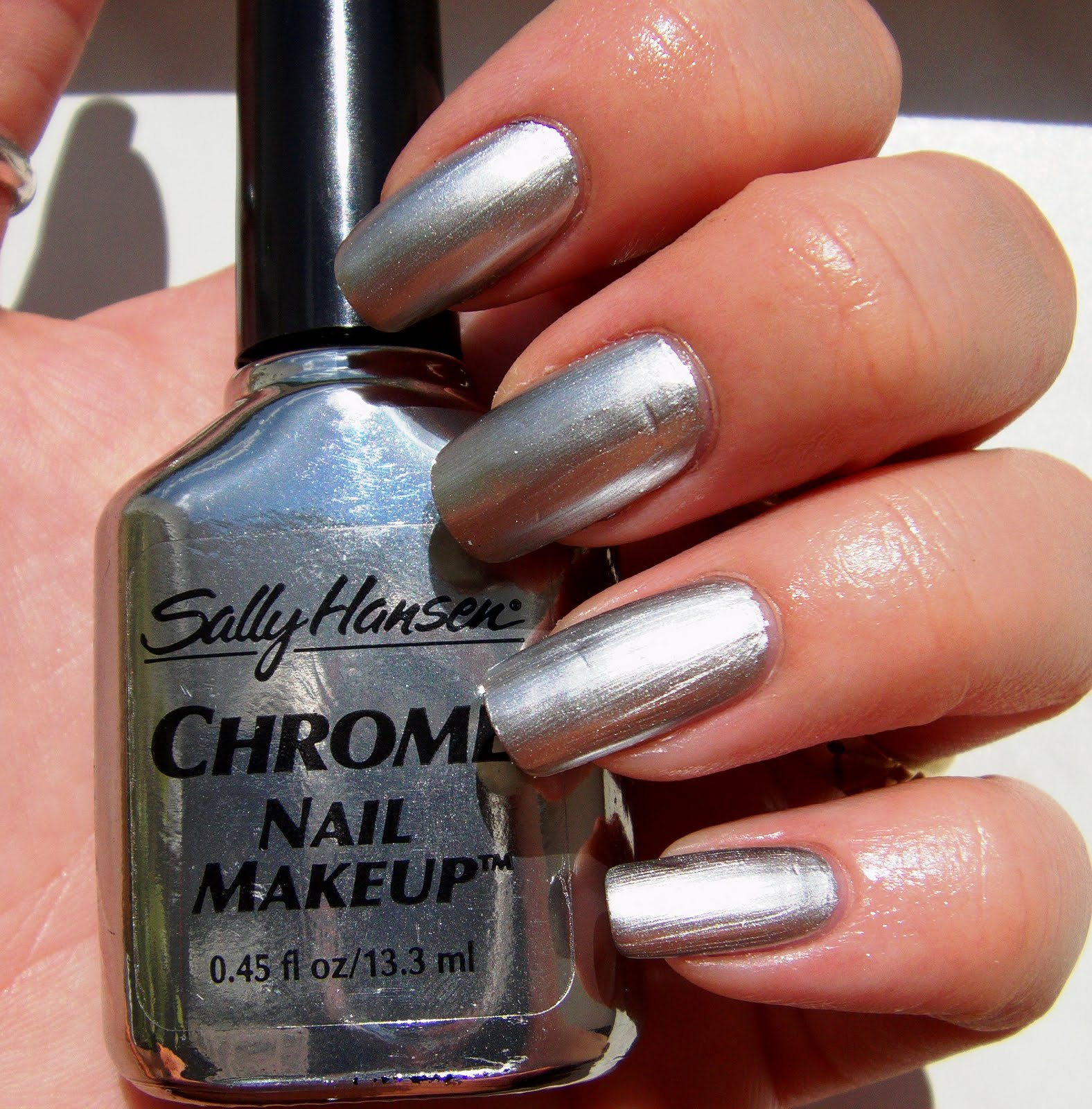 Nail Polish That Looks Like Chrome: All About Nails: Sally Hansen Chrome Nail Makeup + Dice