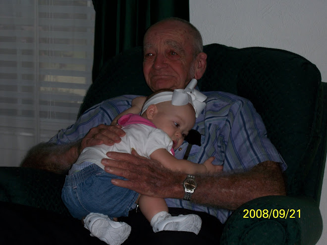 Great Grandpa Bristow and Maddy