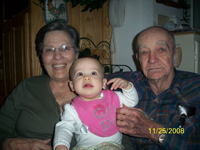 Madelyn and her great grandparents