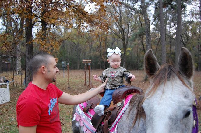 On the big pony!