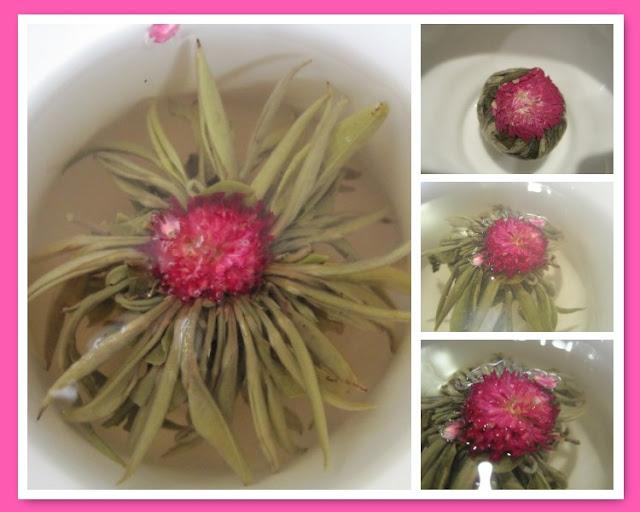 Tea Time with Natasha in Oz: Buddha Ball Jasmine Tea, Jasmine Tea