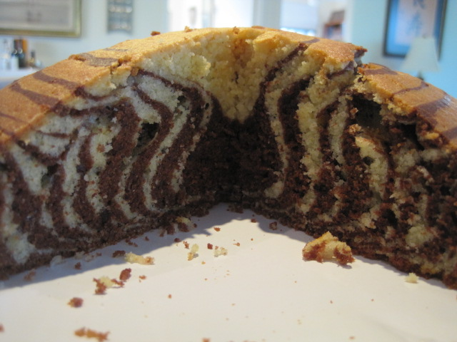Zebra Cake via Natasha in Oz #recipe
