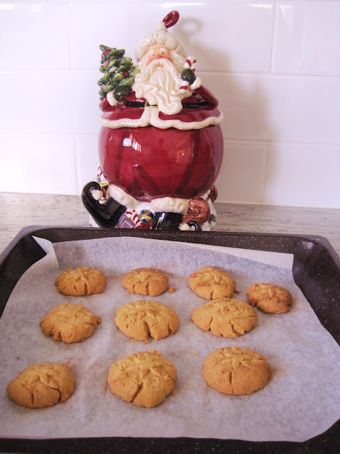 Brown Sugar Shortbread cookies.